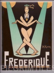 Frederique Art Deco Decorative Tile