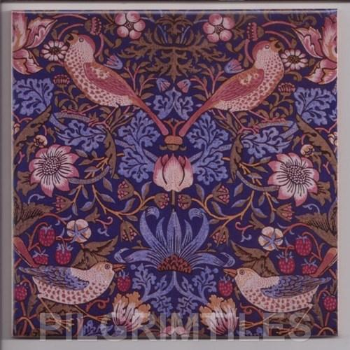 William Morris Strawberry Thief Blue
