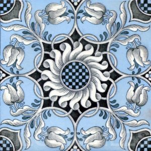 Aesthetic Movement tile  002