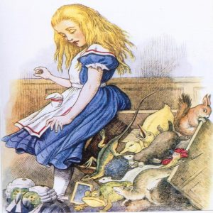 Alice In Wonderland Tile 018