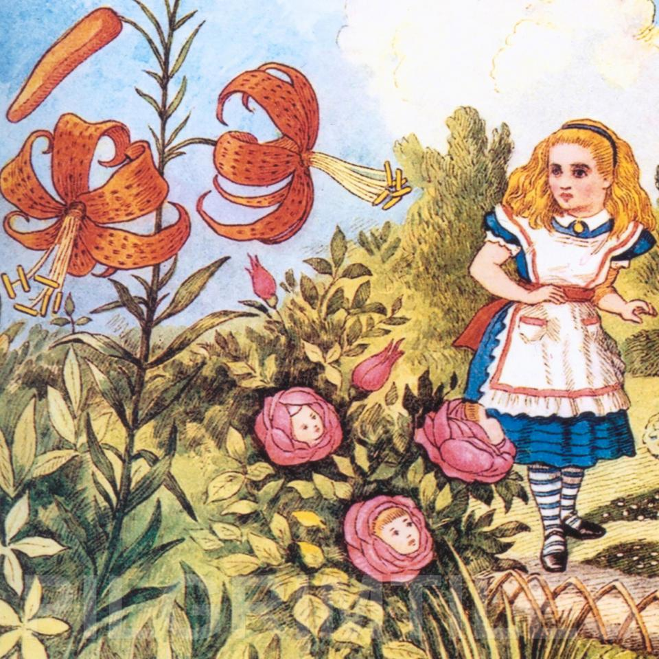Alice In Wonderland Tile 002