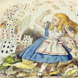 Alice In Wonderland Tile 020