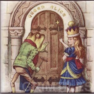 Alice In Wonderland Tile 025
