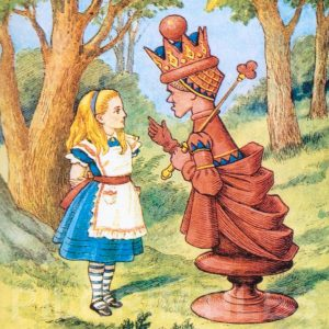 Alice In Wonderland Tile 003