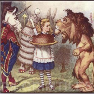 Alice In Wonderland Tile 034