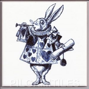 Alice In Wonderland Tile 035