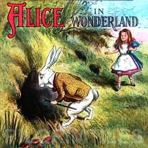 Alice In Wonderland Tile 044