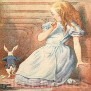 Alice In Wonderland Tile 047