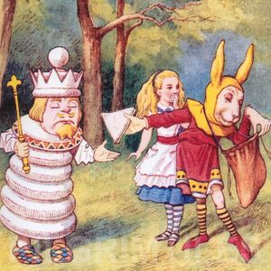 Alice In Wonderland Tile 009