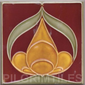 Art Nouveau stylized Tiles  ref An103
