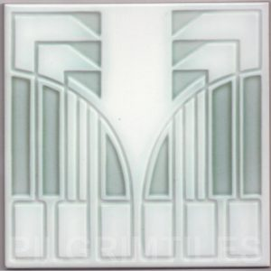 Art Nouveau stylized Tiles  ref An108