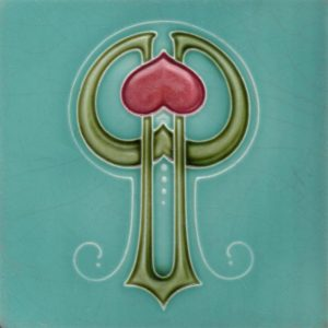 Art Nouveau stylised Tiles ref An40