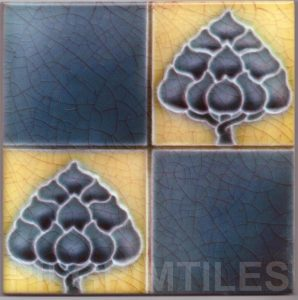 Art Nouveau stylized Tiles  ref An47a