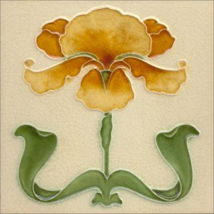 Art Nouveau stylized Tiles  ref An59