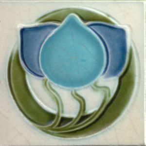 Art Nouveau stylized Tiles  ref An62a