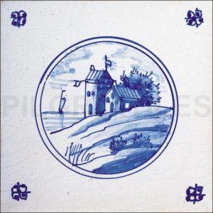 Delft Style Tile 5