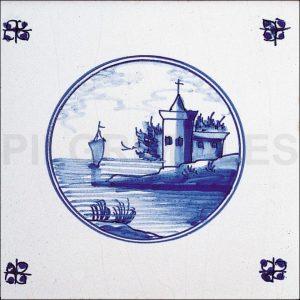 Delft Style Tile 7