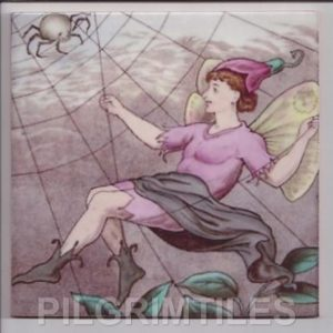 Victorian  Style Tile  Cobweb