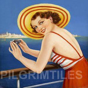 Art Deco Style  Tile Cruise