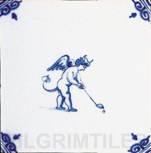 Delft Style Tile Devil