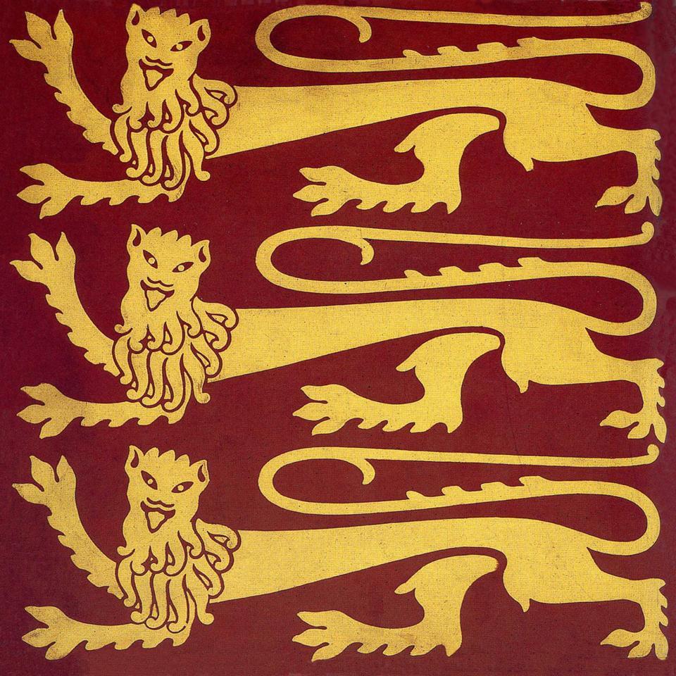Gothic Style  Lion tile ref 06
