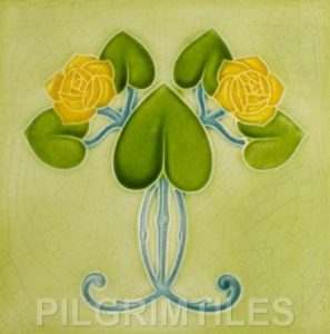 Mackintosh Rose Art Nouveau / Arts & Crafts Tile mac 4