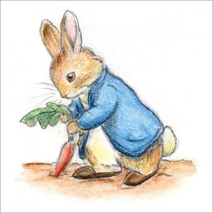 Peter Rabbit Tile 01