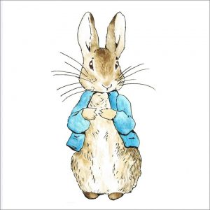 Peter Rabbit Tile 02