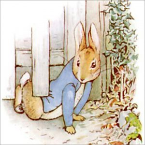 Peter Rabbit Tile 12