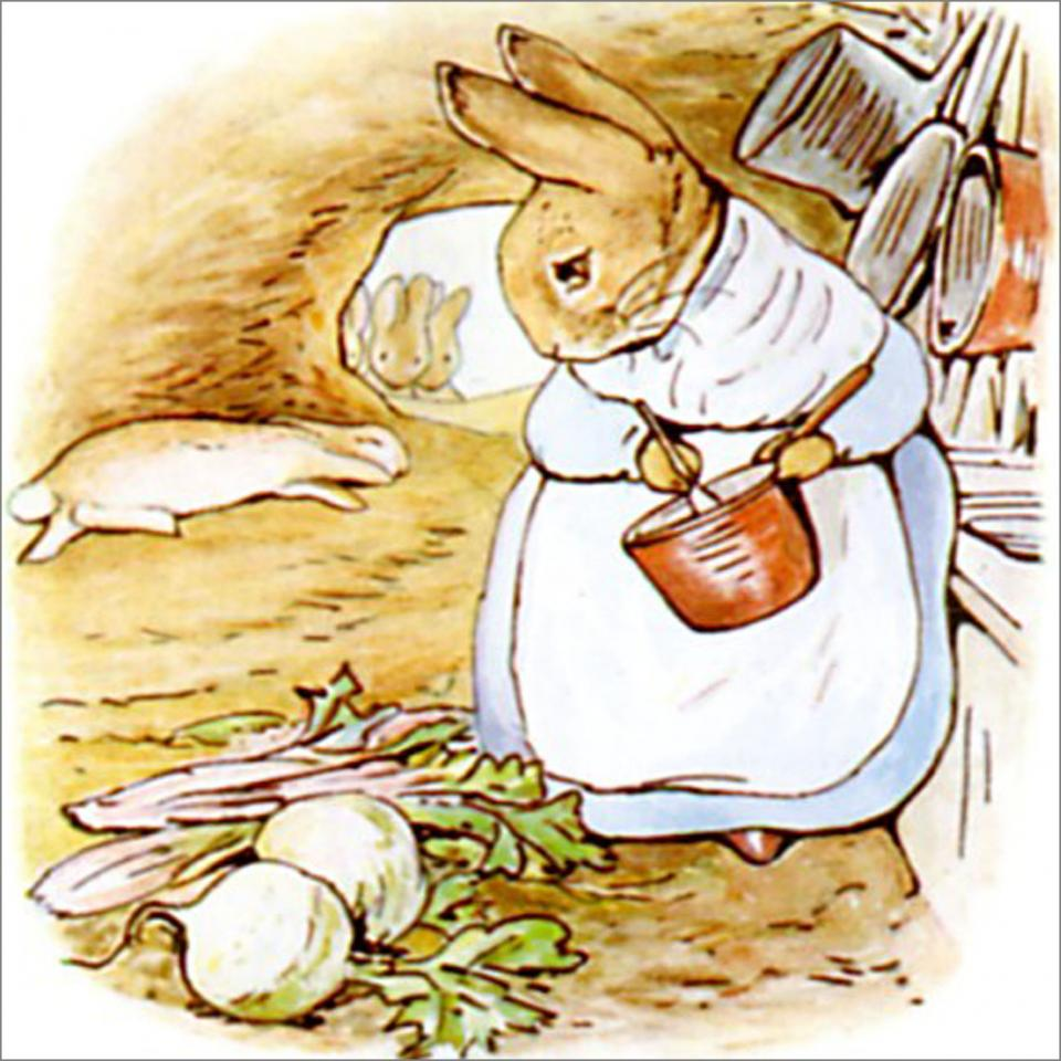 Peter Rabbit Tile 28