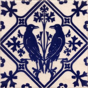 Gothic Pugin Style  Raven tile ref