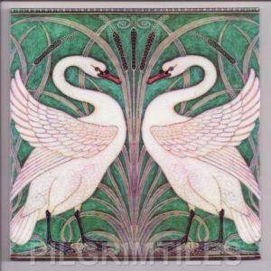 Walter Crane Swans Green