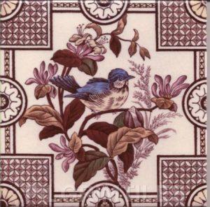 Victorian Style Bird 01