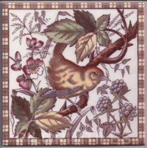 Victorian Style Bird 02