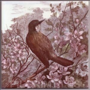 Victorian Style Bird 03