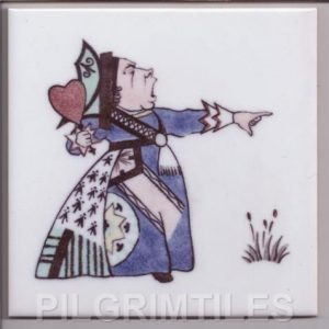 Voysey Alice in Wonderland tile