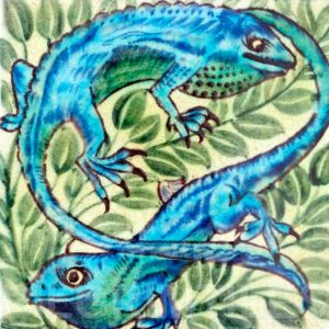 William De Morgan Chameleon