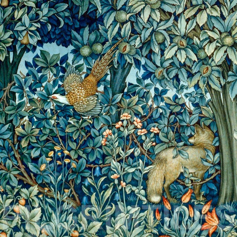 William Morris Arts Crafts Ref 10 Pilgrim Tiles