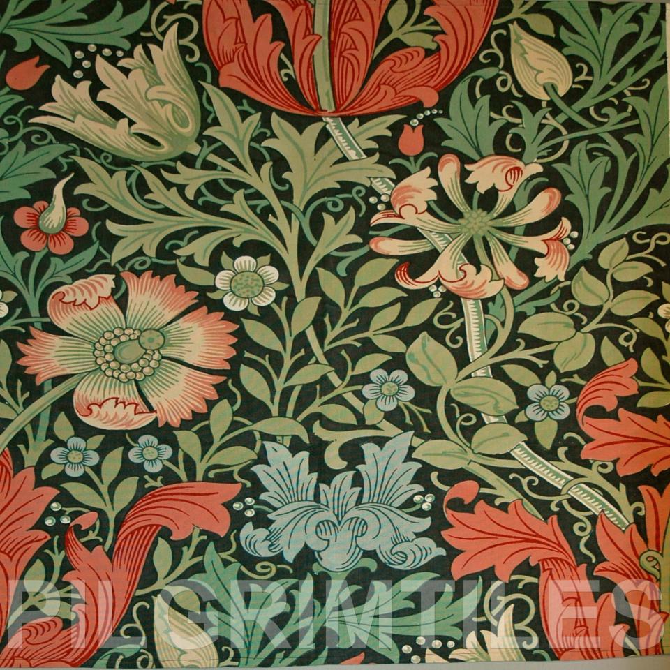 William Morris Arts Crafts Ref 12 Pilgrim Tiles