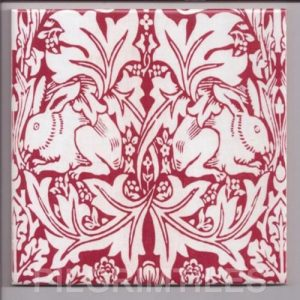 William Morris Brer Rabbit Red