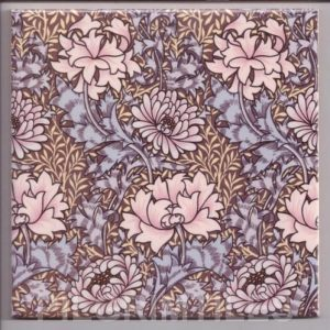 William Morris Chrysanthemum Arts & Crafts
