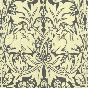 William Morris Brer Rabbit grey/cream