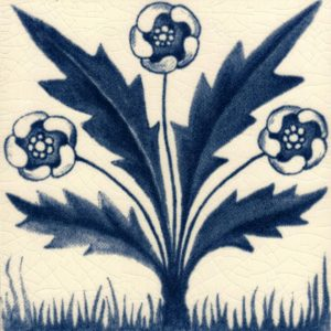William Morris Buttercup dark blue Arts & Crafts