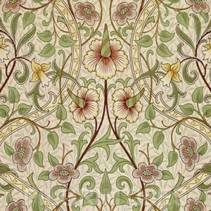 William Morris Daffodil Arts & Crafts Yellow