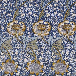 William Morris Kennett blue  Arts & Crafts