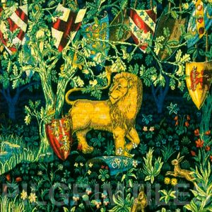 William Morris Lion