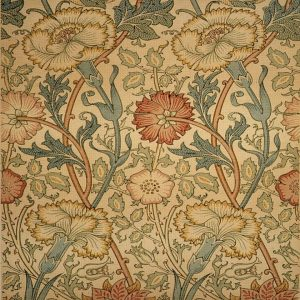 William Morris Pink & Rose Arts & Crafts
