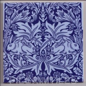William Morris Brer Rabbit Blue