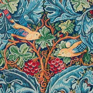 William Morris Strawberry Thief Detail