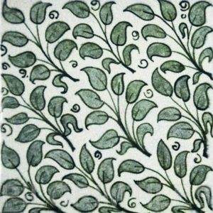 William De Morgan Leaves Tile